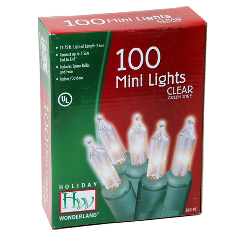 100-Count White Light Set