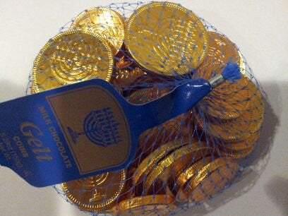 Milk Chocolate Gelt Coins