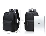 New Vintage Backpack pu Leather Leisure Travel School Bag Laptop Backpacks Men
