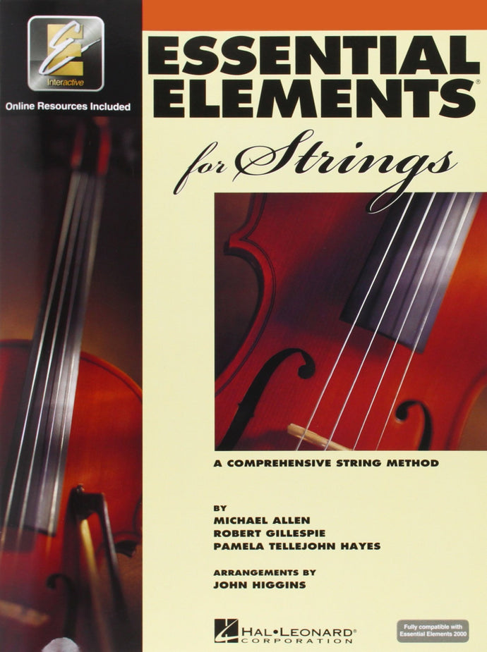 Essential Elements for Cello (Vol. 1 & 2)