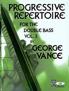 Progressive Repertoire for Bass (Vol. 1, 2 & 3)