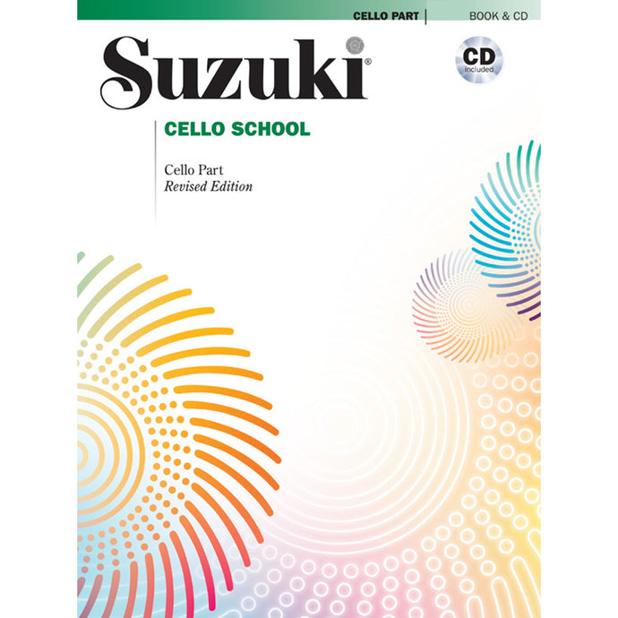 Suzuki Cello School Book & CD combo (Vol. 1-8)