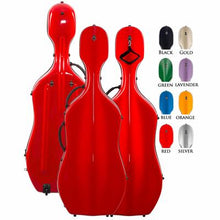 Load image into Gallery viewer, Core Fiberglass Cello Case CC4300