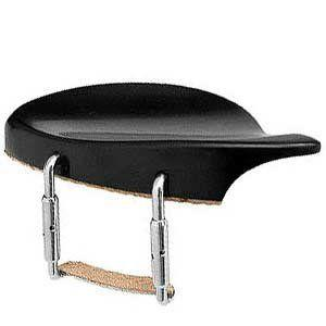 Dresdan Model Chinrest with Silver Hardware