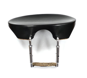 Flesch Flat Model Chinrest with Silver Hardware
