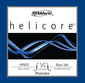 D'Addario Helicore Pizzicato Bass G String