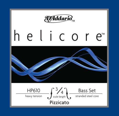 D'Addario Helicore Pizzicato Bass String Set