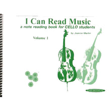 Load image into Gallery viewer, I Can Read Music, Cello (Vol. 1 & 2)