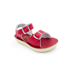 Salt Water Sun-San Surfer Red Sandals