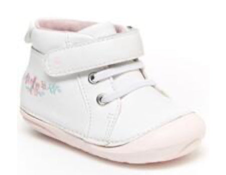 Stride Rite Soft Motion Frankie White/Pink