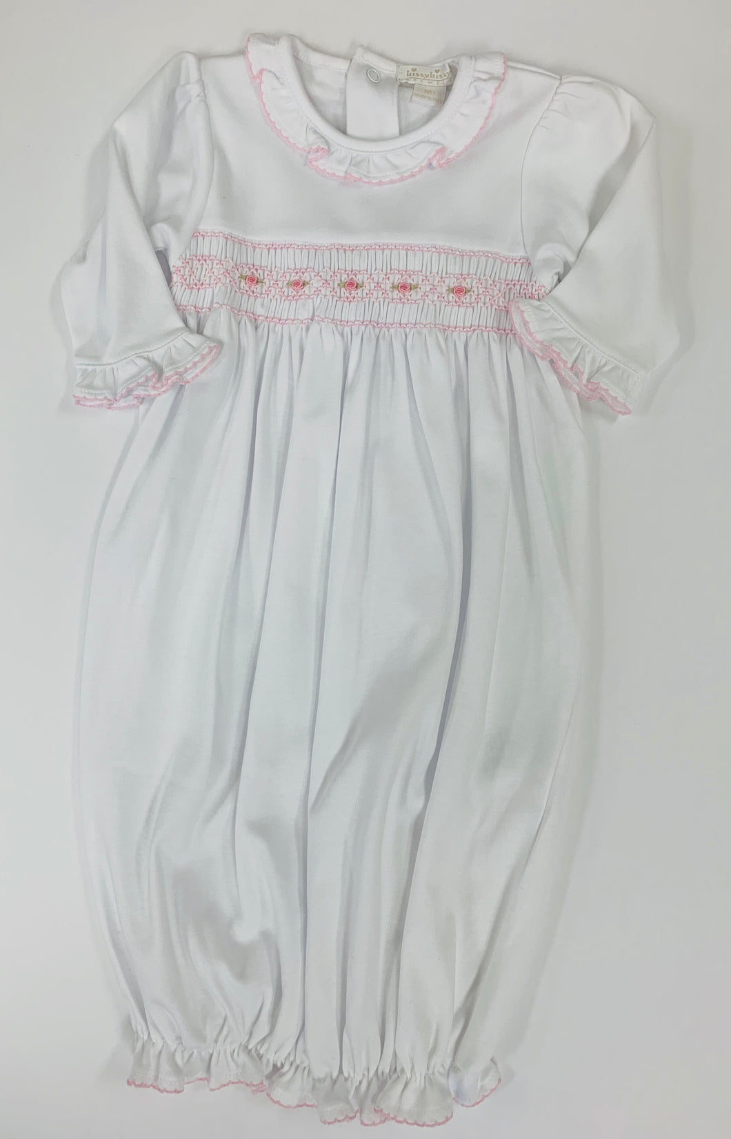 CLB Summer Bows Sack Gown