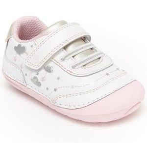 Stride Rite Soft Motion Adalyn White/Silver