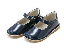 Load image into Gallery viewer, L'Amour Caitlin Mary Jane PATENT NAVY