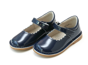 L'Amour Caitlin Mary Jane PATENT NAVY
