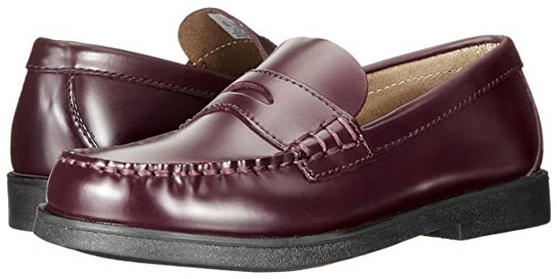 Sperry Colton Burgundy Leather Penny Loafer