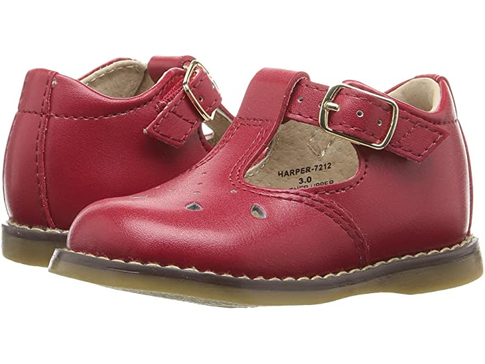 Footmates Harper Apple Red