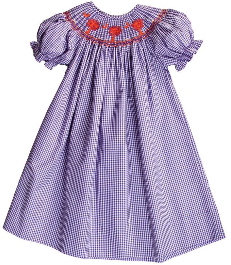 Bishop Palmetto Gingham Dress