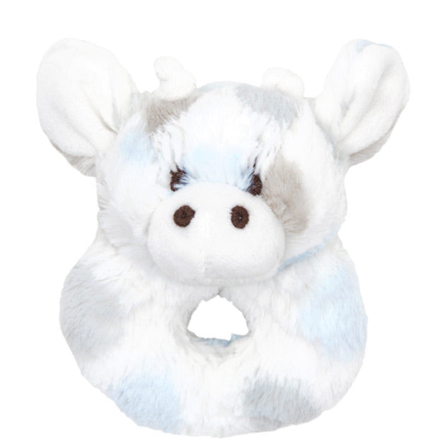 Plush Rattle Blue