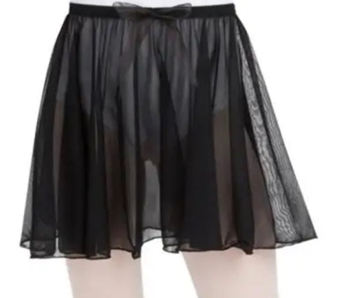 PULL-ON SKIRT Black N1417C