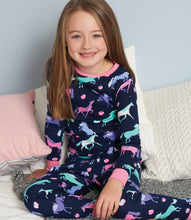 Load image into Gallery viewer, Happy Horses Organic Cotton Pajama Set