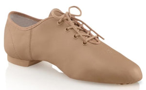 Capezio Jazz Oxford Caramel shoe