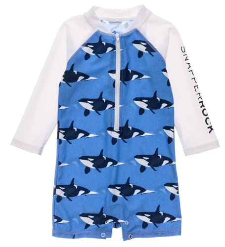 Orca Ocean Long Sleeve Sunsuit