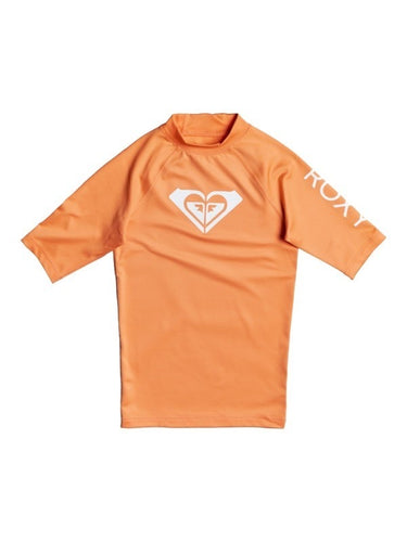 Whole Hearted Short Sleeve Rash Guard Orange