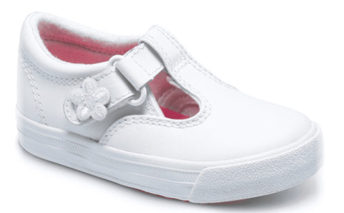 Keds Daphne Tstrap White Leather