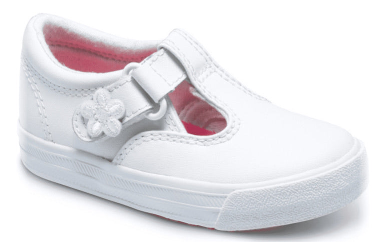 Keds Daphne T-Strap White Leather