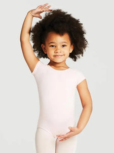 Short Sleeve Leotard Pink CC400C