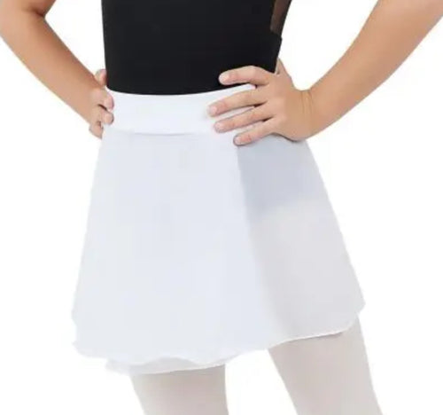 Pull on Skirt White TC0011C