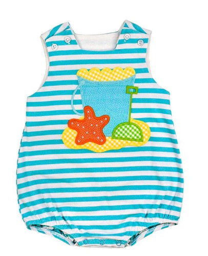 Beach Fun Knit Infant Bubble
