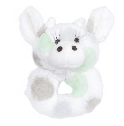 Plush Rattle Celadon