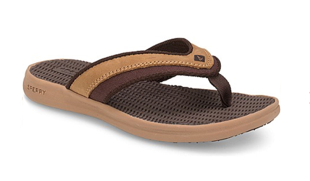 Big Kid's Gamefish Sandal Tan