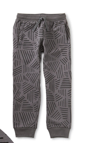 Printed Uni Jogger Etchings