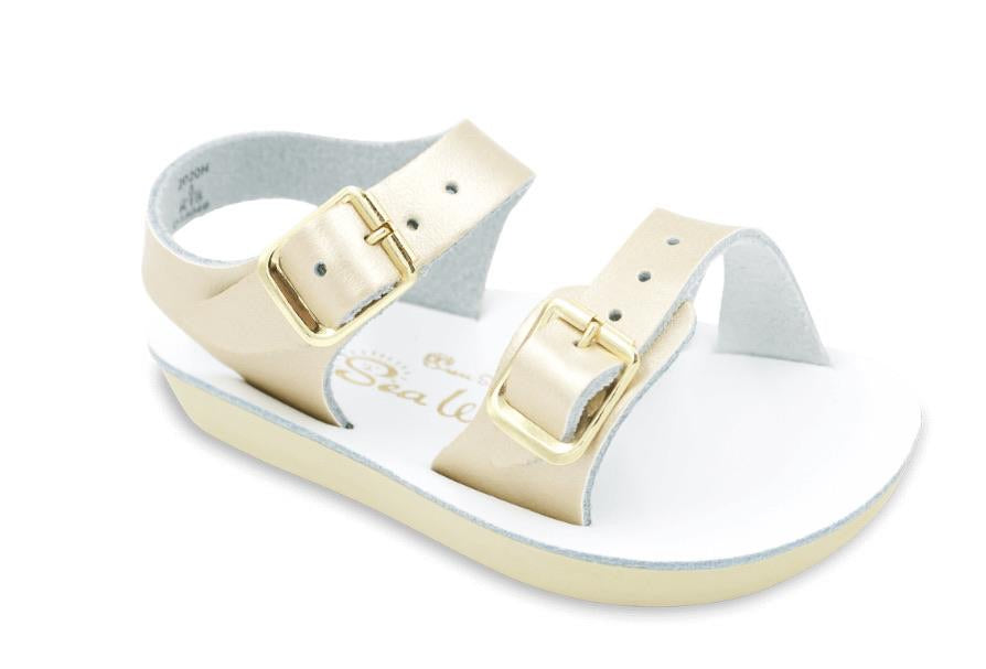 Saltwater Sun-San Sea Wee Baby Sandals Gold