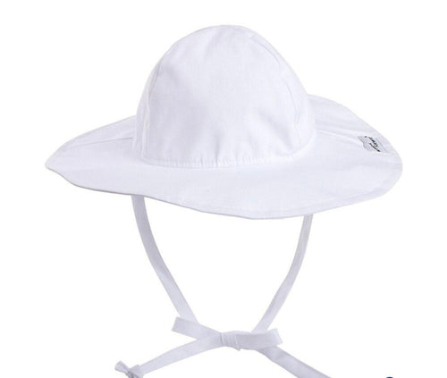 UPF 50 Floppy Hat White