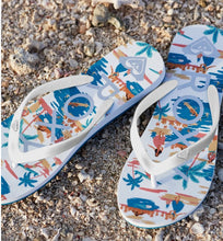 Load image into Gallery viewer, RG Tahiti Sandal multi color