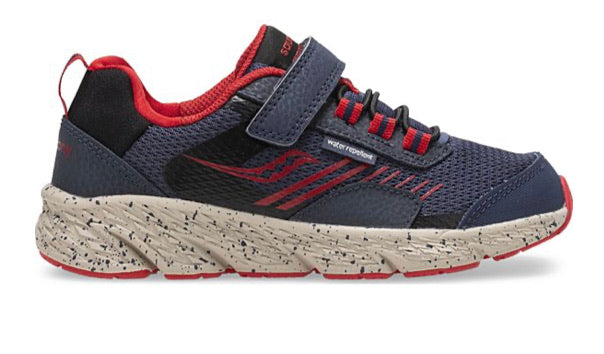 Saucony Wind Shield A/C Navy/Red