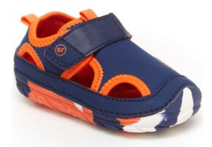 SM Splash Navy/ Orange Sandal