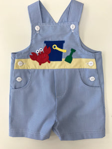 Junior Cord Shortall With Sand Toys