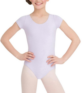 Capezio Lavender Short Sleeve Leotard