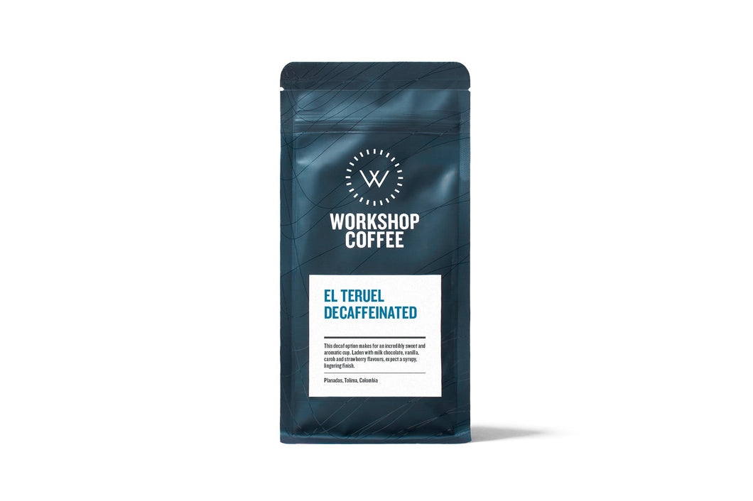 EL TERUEL DECAFFEINATED (Whole Beans)