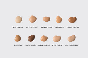 Natural/Organic Liquid Foundation Color Guide