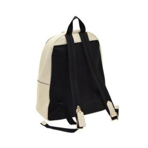 Coach Charlie Backpack Ladies Coated Canvas and Leather (Chalk) - BAGS