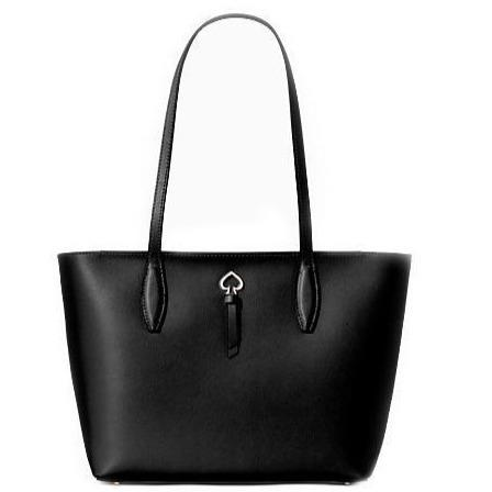 Kate Spade Adel Ladies Leather Tote Handbag Purse (Black) - BAGS