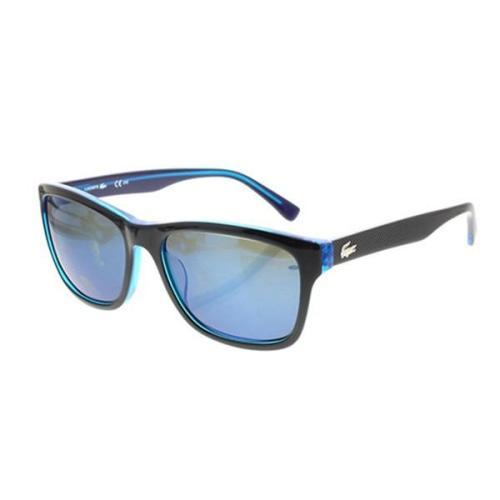Lacoste L683S 002 Unisex Black/Blue UV protection. - Sunglasses