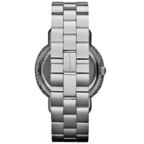 Marc Jacobs MBM3190 Ladies Marci Silver Mirror Face Crystal Watch
