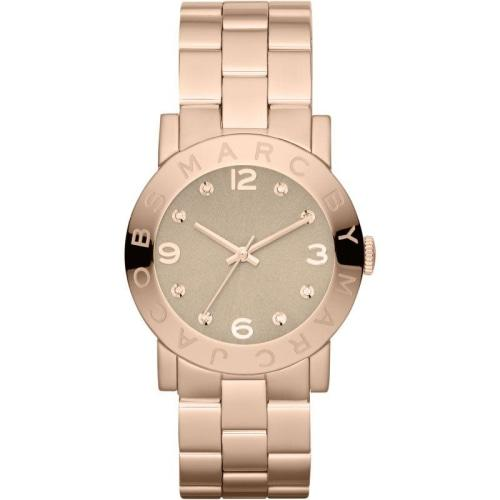 MBM3221 Ladies Amy Rose Gold Stainless Steel Crystal Watch