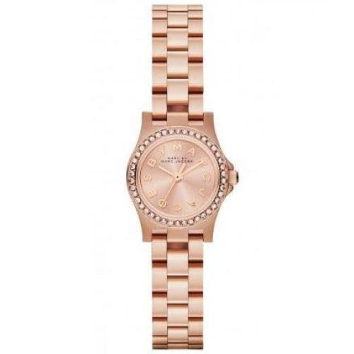 MBM3278 Ladies Henry Dinky Glitz Rose Gold Crystal Watch